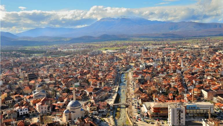 Prizren City and the Fortress
