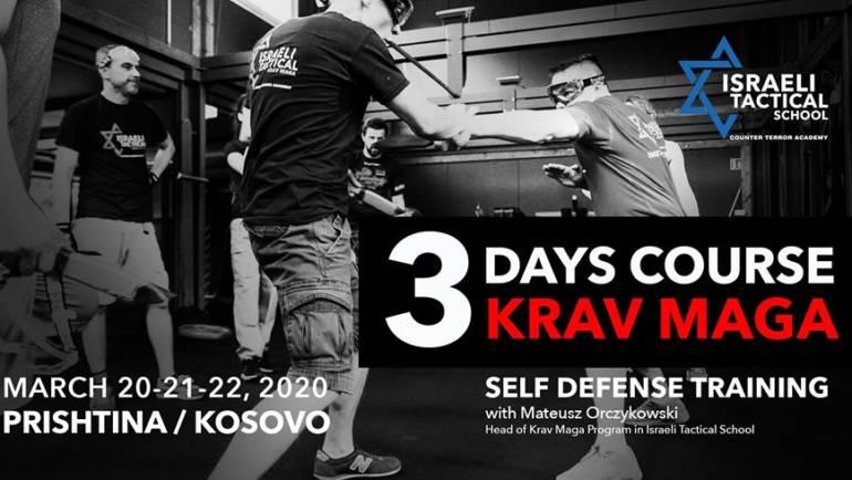3 days Krav Maga Course in Kosovo / Kurs 3 ditor Krav Maga – Vetembrojtje