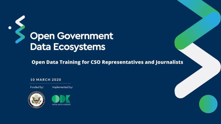 Open Data Training for CSO Representatives and Journalists